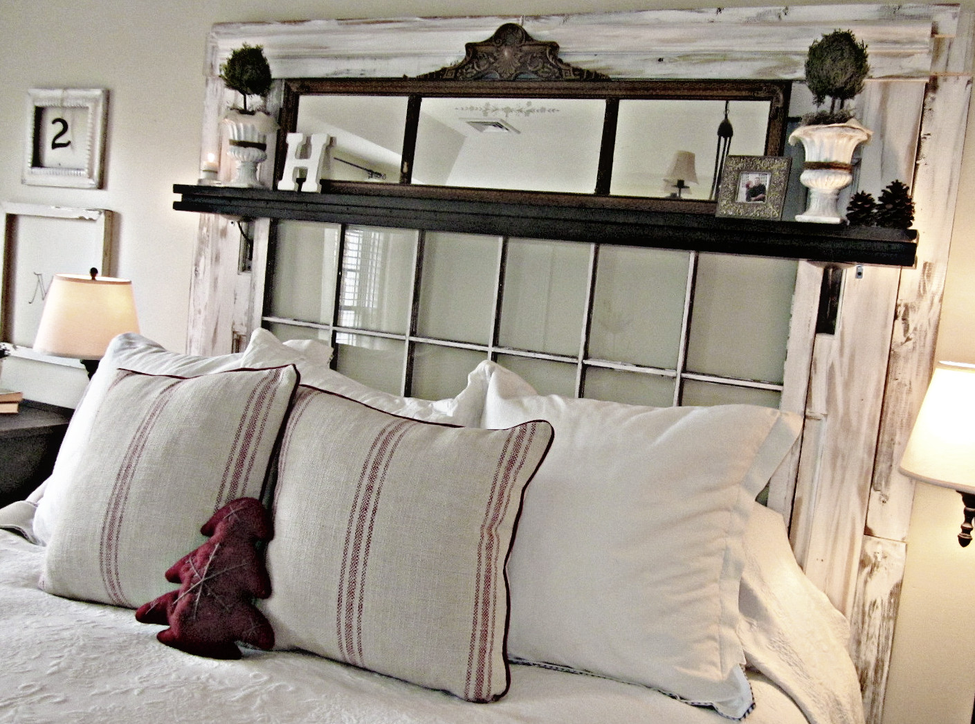 window headboard & The Blind and Shutter Gallery - Custom Blinds Shades Shutters ... Pezcame.Com