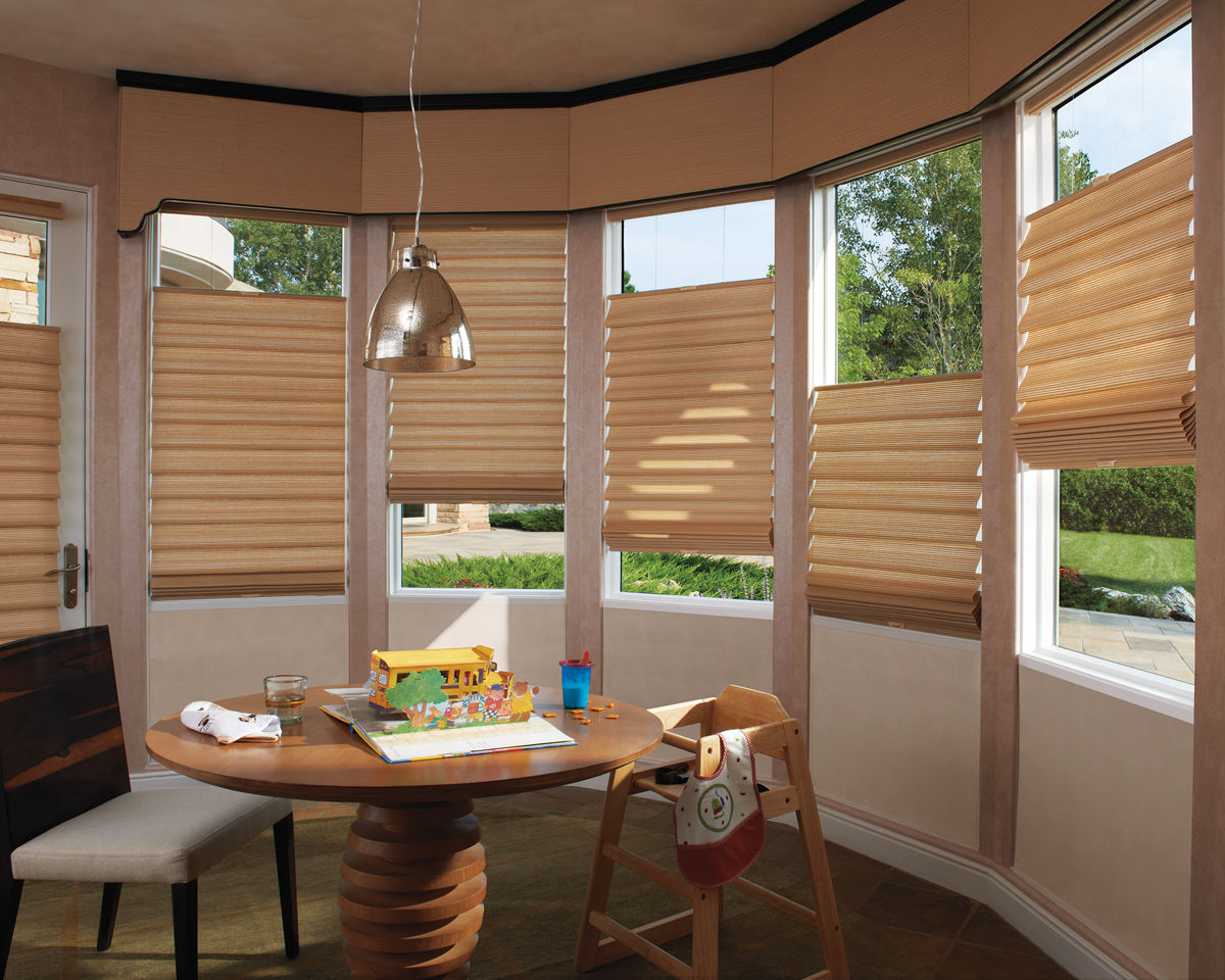 The blind and shutter gallery custom blinds shades for Shades and window treatments